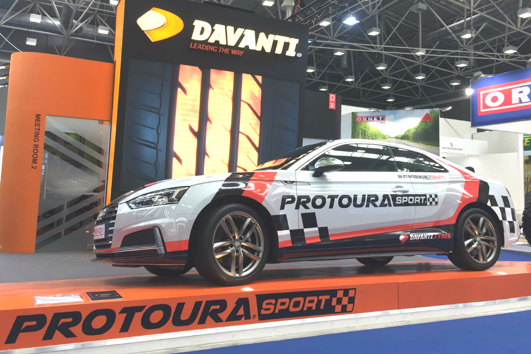 Davanti enters new phase of tyre development with Protoura