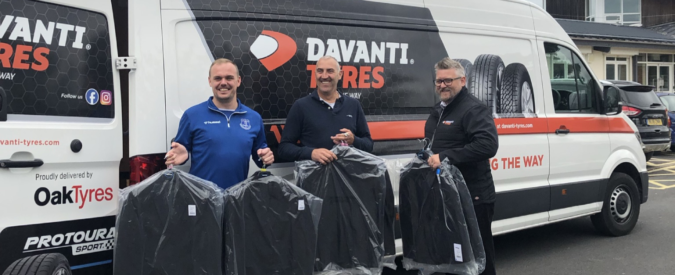 Davanti Tyres spearheads School Uniform Poverty campaign with Everton...