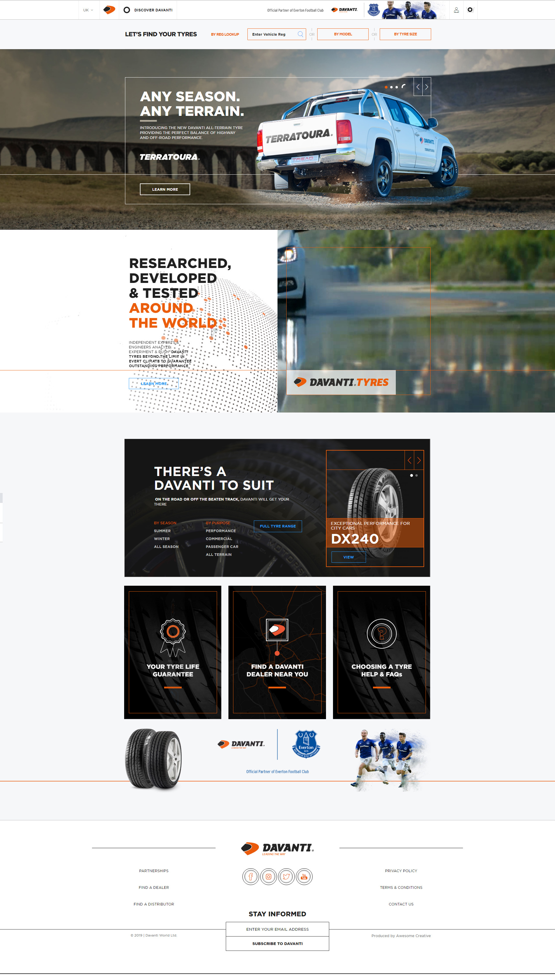 Davanti Tyres leading the way with fresh new website
