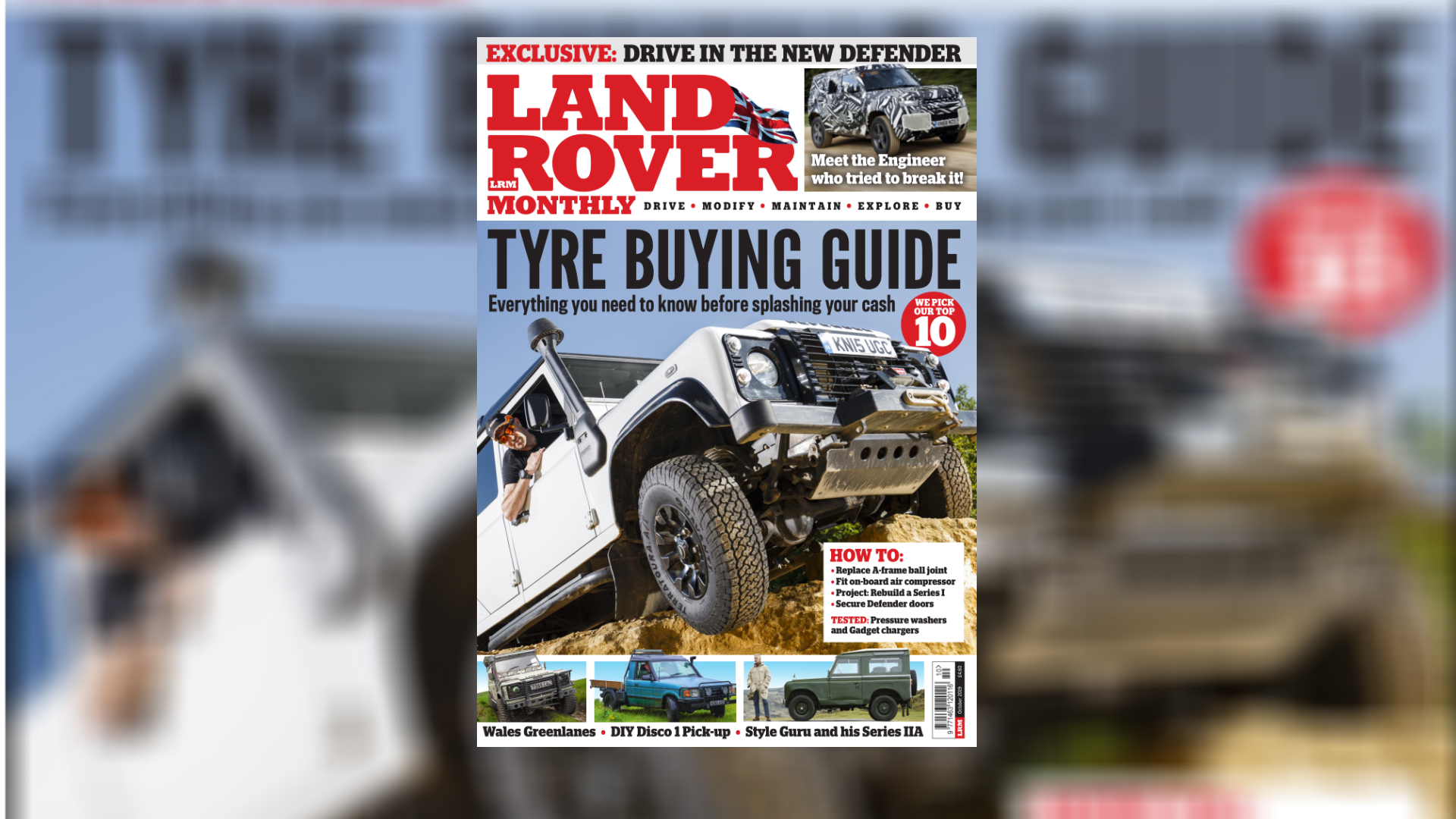 Terratoura named in Land Rover Monthly top 10 just six months after launch
